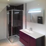 Rénovation des deux salles de bain dans une maison