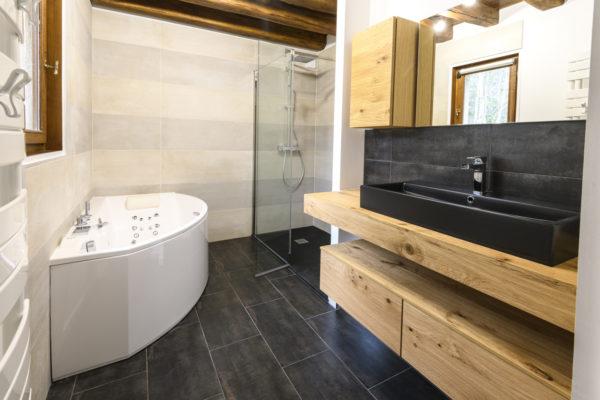Rénovation de salle de bain d'une chambre parentale