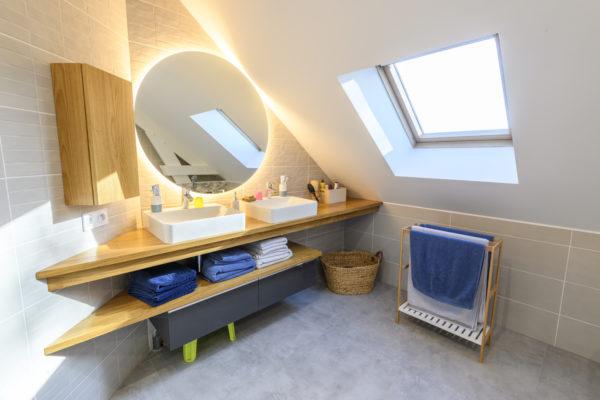 Rénovation d'une salle de bain familiale